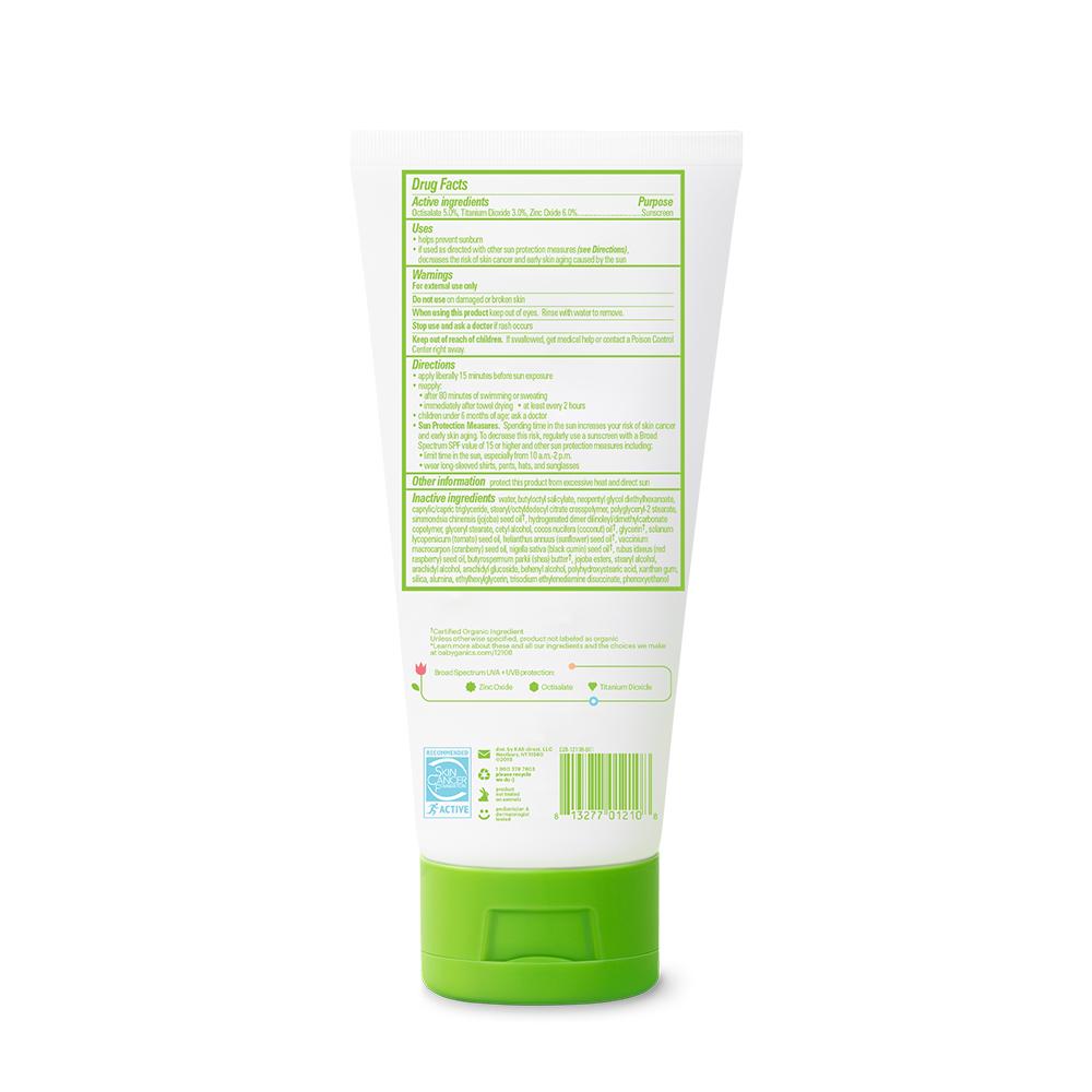 Protector solar en crema