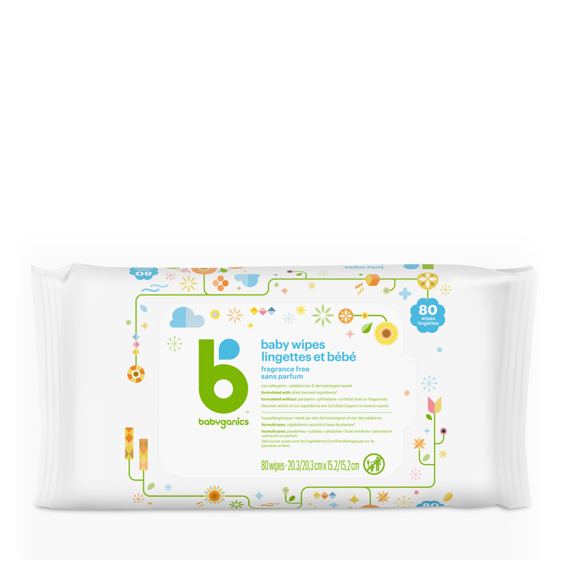babyganics Face, Hand & Baby Wipes