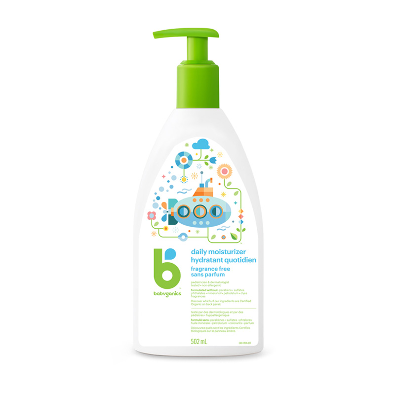 babyganics Moisturizing Daily Lotion, Fragrance Free